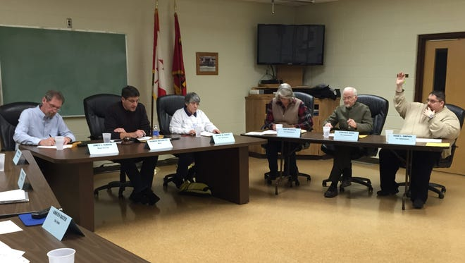 Marine City commissioners met Tuesday night for a special meeting to consider extending two of the city's three Tax Increment Finance Authority districts.