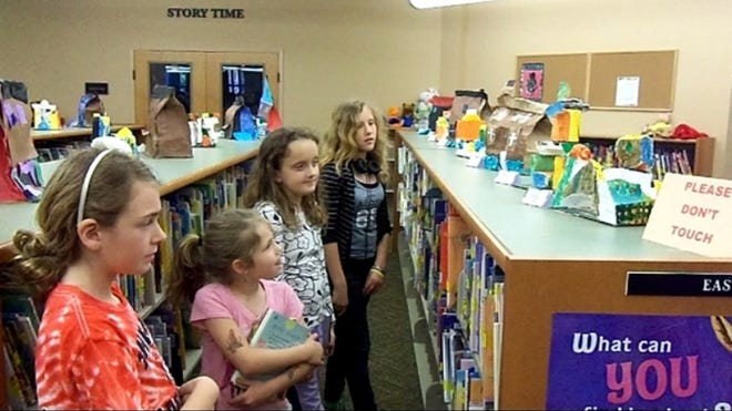 The Gallatin Public Library, pictured above, will receive grant money to purchase children's workstations.