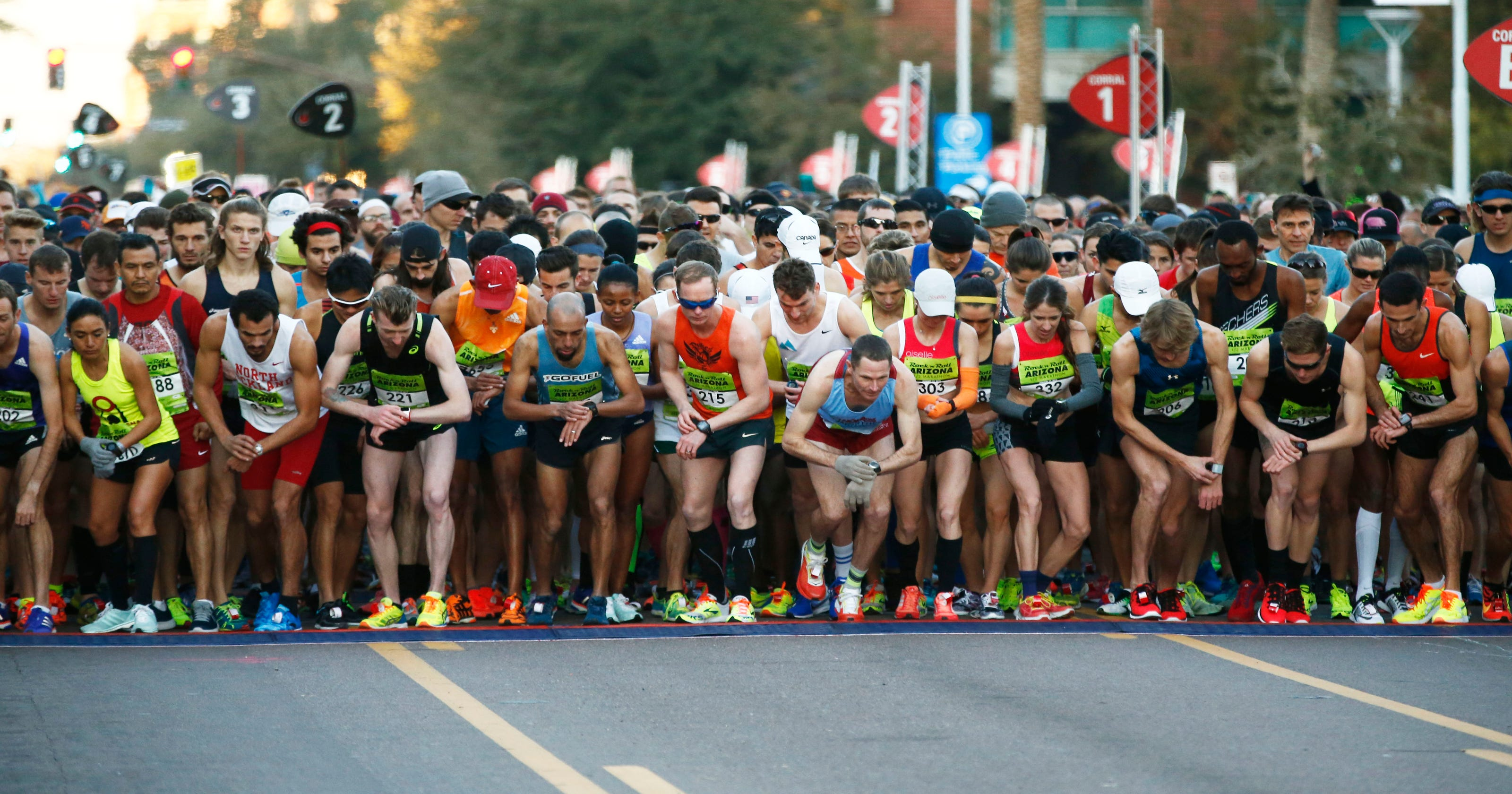 Rock 'n' Roll Arizona Marathon mens results 2016
