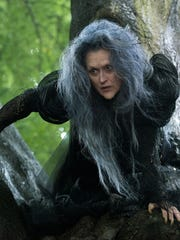 """Meryl Streep as the Witch in a scene from the film, """"Into the Woods."""" The movie opened in theaters Dec. 25, 2014."""