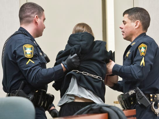 Desiree George is removed from Superior Court in Burlington