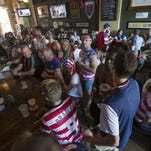 A capacity crowd at downtown's Chatham Tap during last year's World Cup action.