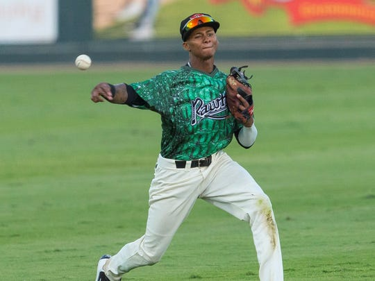 Visalia Rawhide shortstop Sergio Alcantara is the top