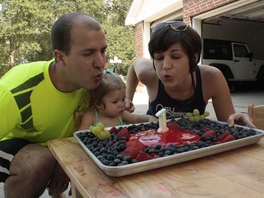 Avery party cake