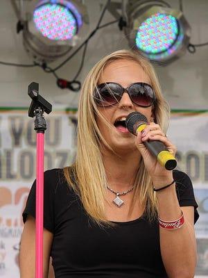 The Erika Sherry Band is returning to Leilapalooza on Saturday.