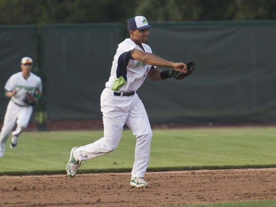 Richie Martin of the Vermont Lake Monsters.