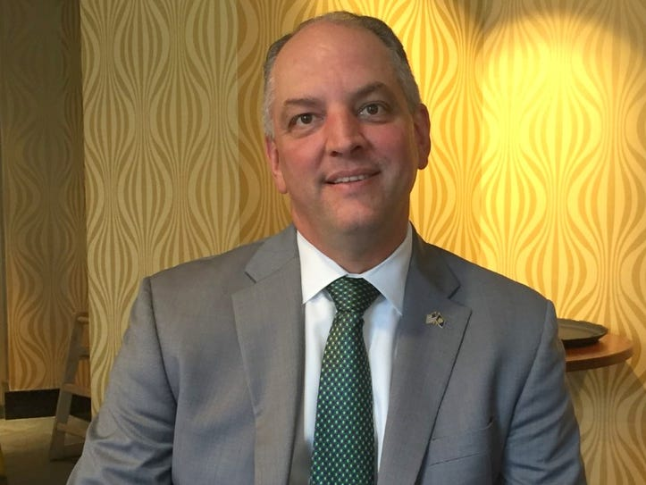 Louisiana Gov. John Bel Edwards met Thursday with Rep.