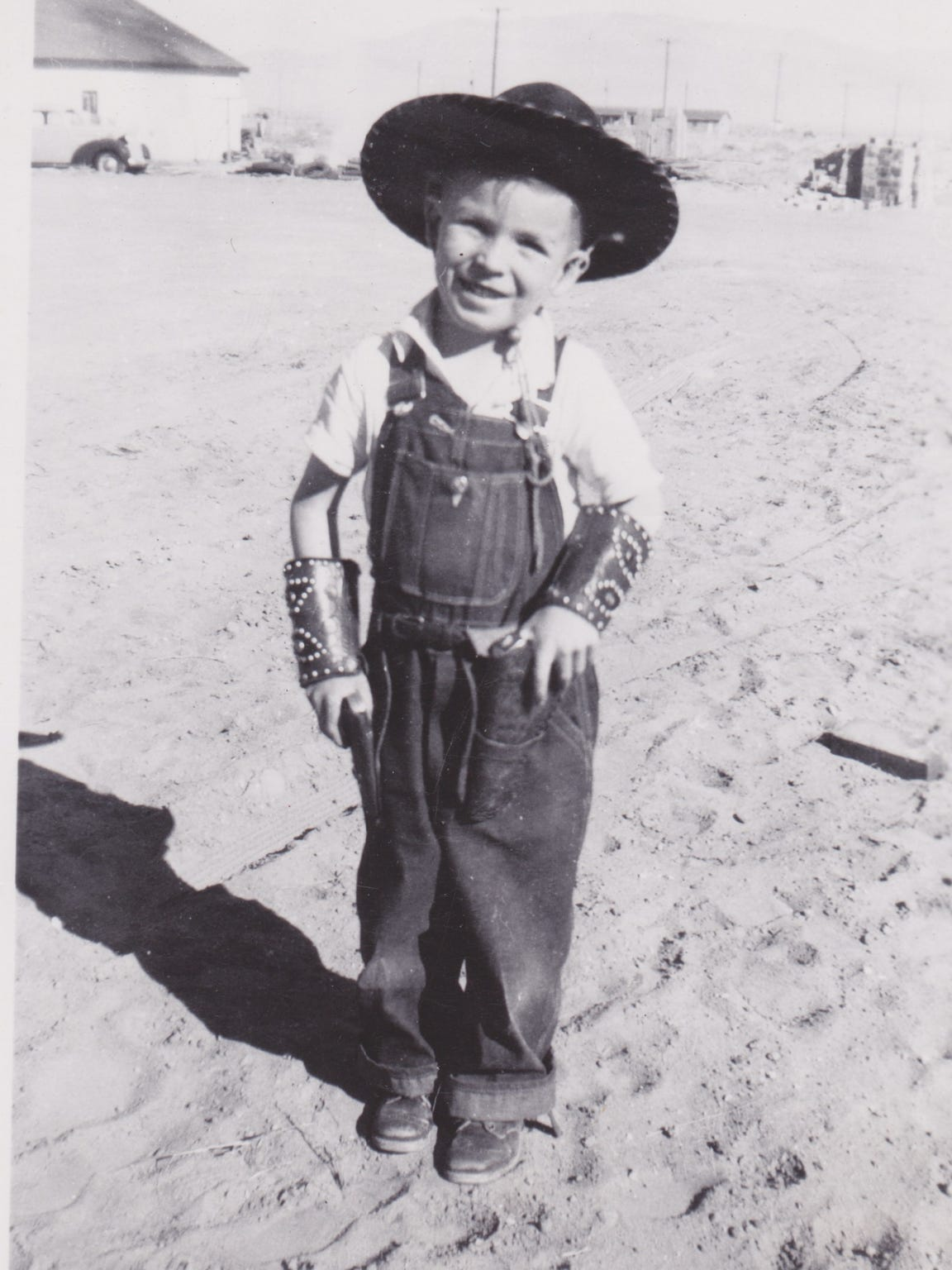John Arthur Smith as a child in New Mexico.