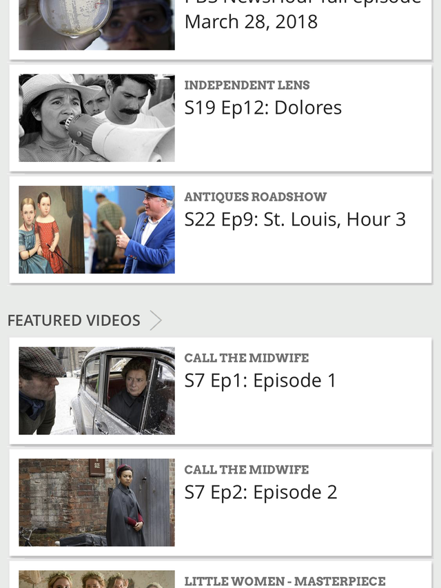Cutting the cord: PBS not included in most cable alternatives