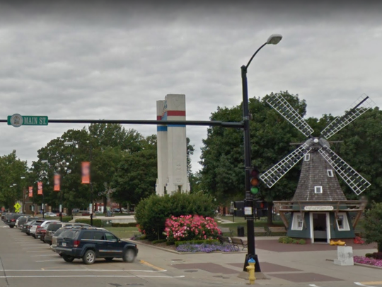 Iowa: Stop and smell the tulips, pastries, fresh-roasted coffee, and more tulips as you wander through the Dutch town of Pella, where a windmill welcomes visitors to its bustling Main Street.