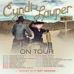 Cyndi Lauper's 2016 tour.