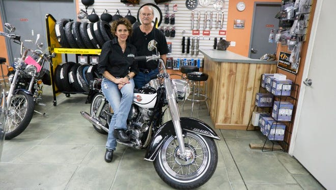Join Everglades Motorcycle Service owners Lynn Wannemacher and Michele Huscher in assisting two local charities: the Community Blood Center and Naples Cat Alliance.