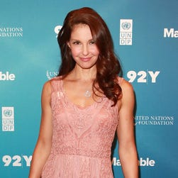 Ashley Judd attends the 6th Annual Social Good Summit on Sept. 27.
