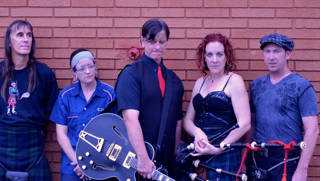 Kilt The Messenger will perform 8:30-11:30 p.m. Jan. 13 at The Kilted Mermaid, 1937 Old Dixie Highway in Vero Beach.