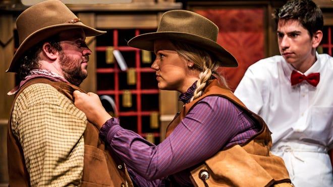 "Angela Fout as Lona Farrell in ""Arizona Lady,"" coming to Arizona Opera."