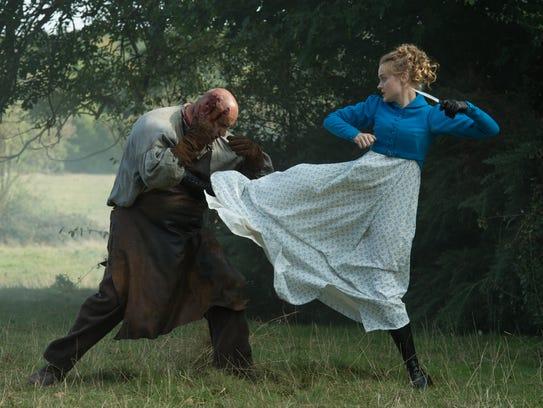 Bella Heathcote stars as kicking Jane Bennet in 'Pride