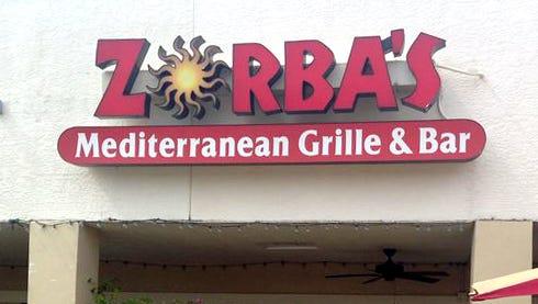 Zorba's Mediterranean Grille & Bar is located at 9106 Bonita Beach Road in Bonita Springs.