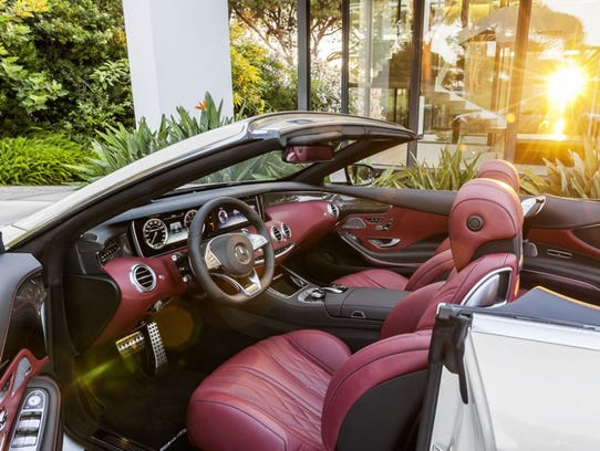 Mercedes Benz S63 Convertible