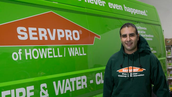 Saher Gouda is owner of Servpro of Howell/Wall, a company that mitigates fire and water damage.
