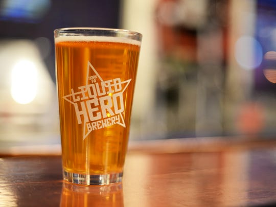 The Hop Hero #20 from Liquid Hero is a lager perfect for celebrating National Lager Day on Dec. 10.