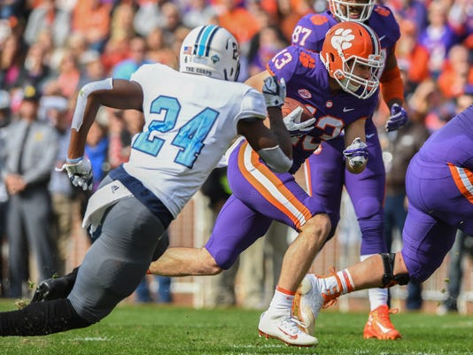 Clemson The Citadel Football