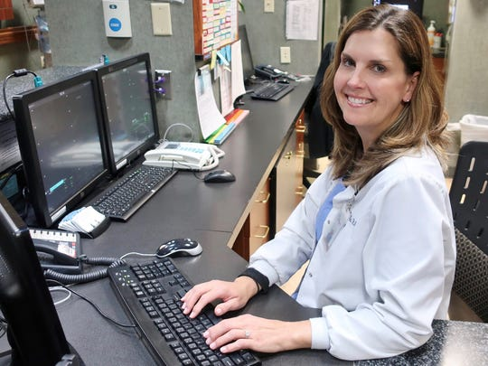 Amy Hutton Beder, who has been a nurse for 26 years, was destined to go into the profession, according to her colleagues.