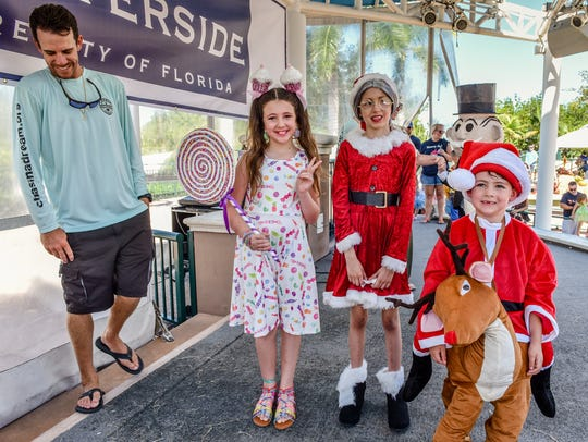 Harbourside Place in Jupiter was filled recently with