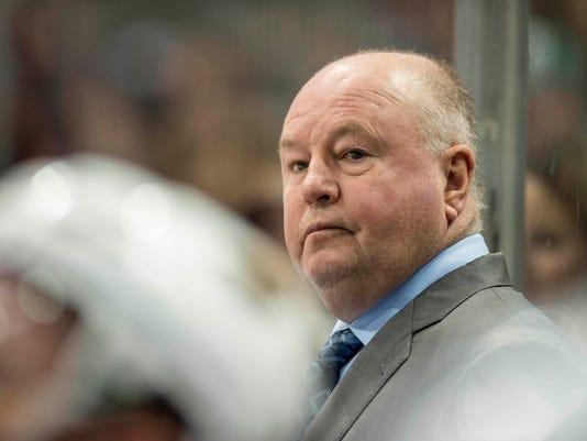USP NHL: MINNESOTA WILD AT DALLAS STARS S HKN USA TX