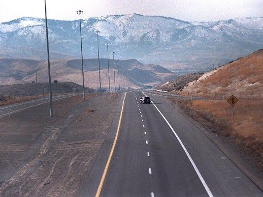 I-80 empty