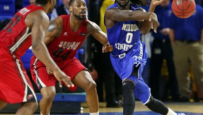 Darnell Harris will be a player MTSU will turn to this season, head coach Kermit Davis said.