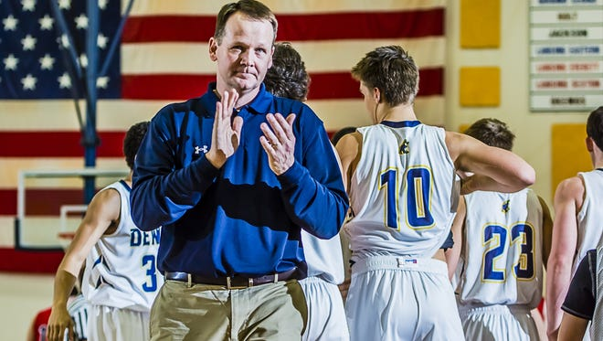 DeWitt boys basketball coach Ron Marlan is hoping the Panthers can salvage their season with a strong showing in districts.