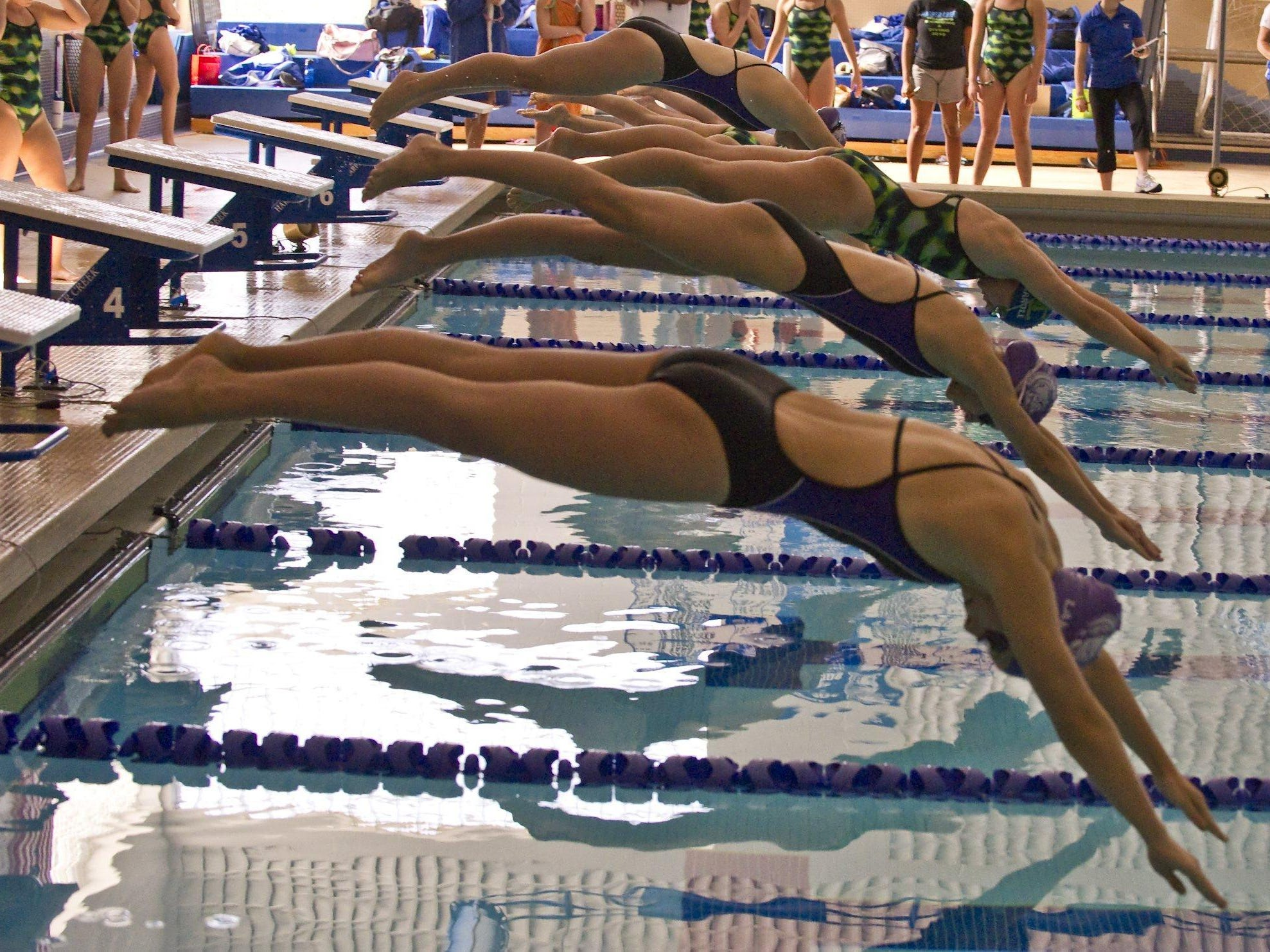 Girls' swim season is already underway with area teams already in the water.
