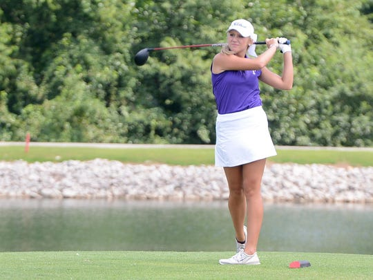 TCA's Hannah Bratton finished second as an individual in the FCA Invitational tournament at Jackson Country Club on Monday.