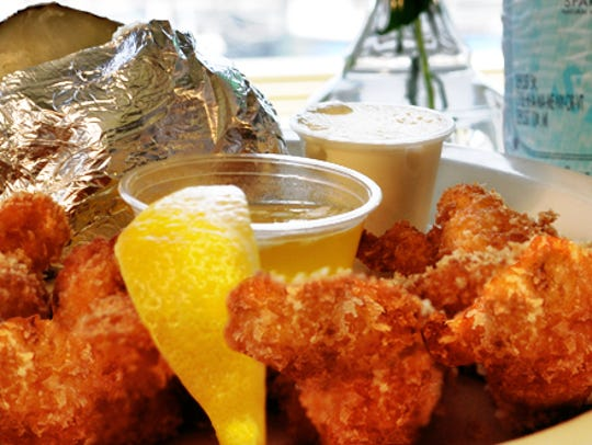 French Fried Lobster is the signature dish at Howard's