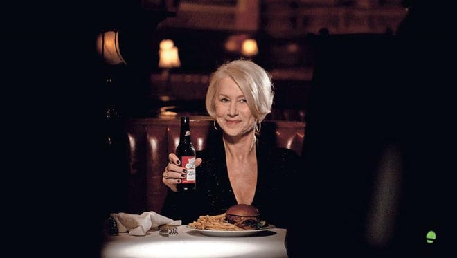 Actress Helen Mirren delivers a lecture about drunk driving and why it's a terrible idea in a Budweiser ad for Super Bowl 50.