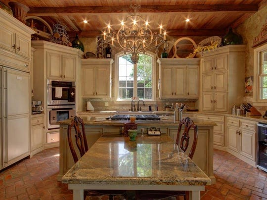 This stunning kitchen is located at 200 Burdin Road in Lafayette and is listed at $1,749,000.