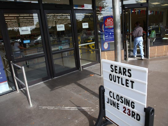 The Sears Outlet in East Naples will close on Friday,