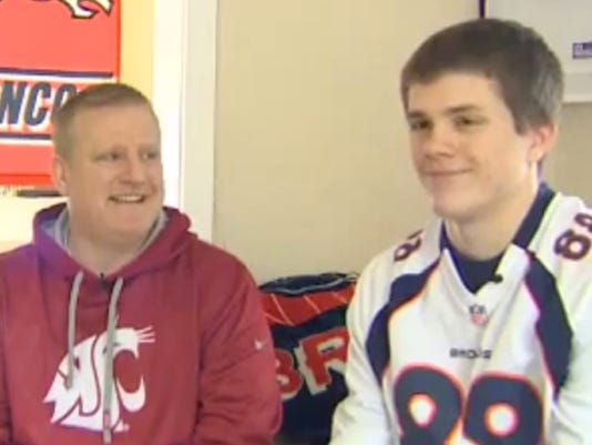 super popular aa6ad a344e Seattle-area teen fired after wearing Denver Broncos jersey ...
