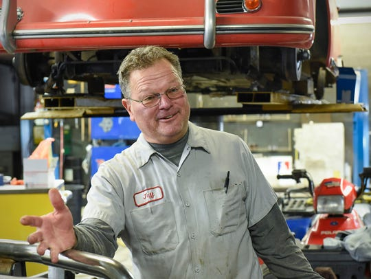 Jeff Hinkemeyer, owner of Glen's Precision Auto, talks