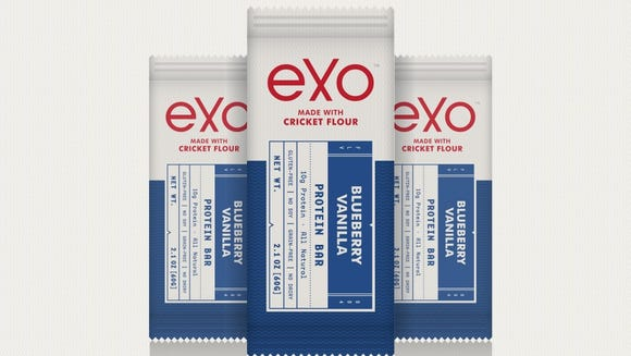 """Made by AccelFoods-backed Exo, these """"cricket flour"""""""