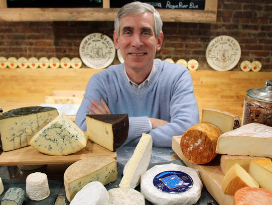 Stephen Catania is the owner of The Cheese Cave in