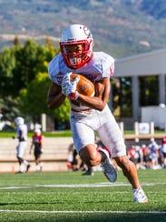 Southern Utah wide receiver Isaiah Diego-Williams (15)
