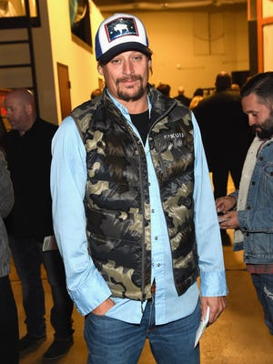 Kid Rock attends the Eagles' first-ever concert at the Grand Ole Opry House on October 29, 2017, in Nashville.