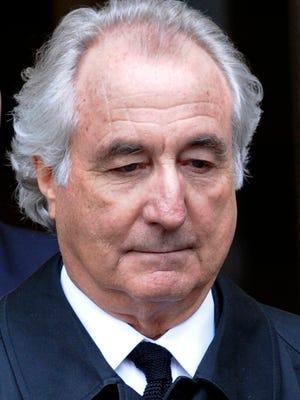File photo taken in 2009 shows Ponzi scheme mastermind Bernard Madoff leaving Manhattan federal court in New York City.