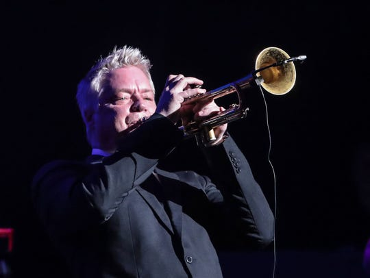 Chris Botti, seen performing at the McCallum Theatre's 30th anniversary gala in 2017, returns to the McCallum for its final regularly-scheduled act of the season.