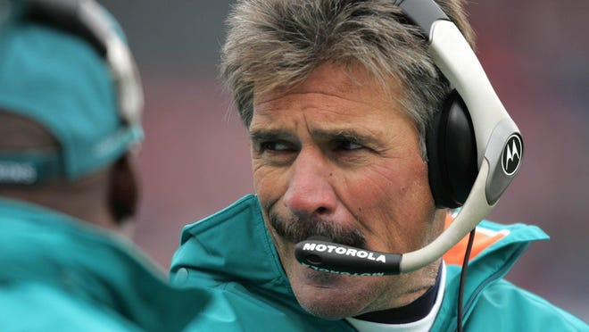 Dave Wannstedt was the coach the last time Miami won a playoff game.