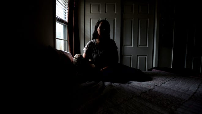 Brittany, a survivor, is now a housemom for other women coming out of the life of prostitution and trafficking.