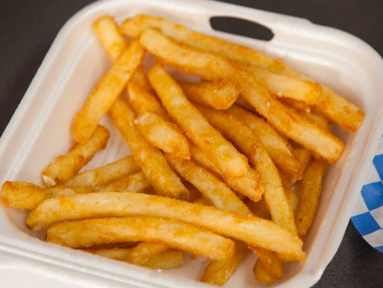 Fries from One Hot Grill Thursday, June 14, 2018.