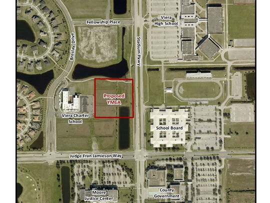 Viera YMCA proposed site.