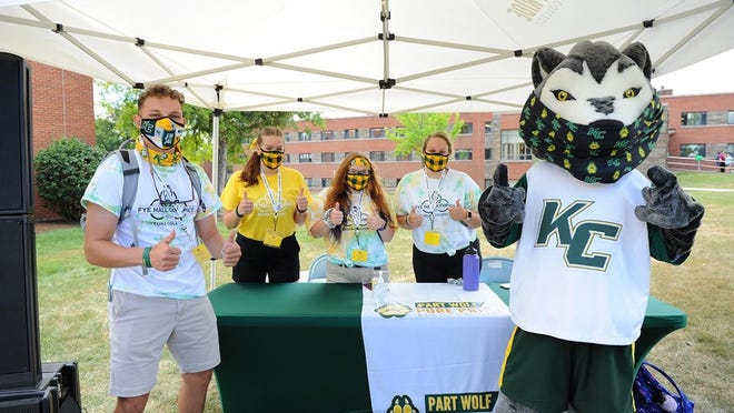 Keuka College welcomes students back to campus for the 2020-21 academic year.